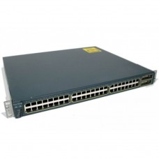 Switch Cisco WS-C3548-XL-EN, 48 porturi RJ-45 10/100, 2 Sloturi Gbic 1000Base SX