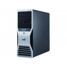 Workstation Dell T5500, Intel Xeon Quad Core E5630 2.53GHz-2.80GHz, 8GB DDR3, 500GB SATA, AMD Radeon HD 7350 1GB GDDR3