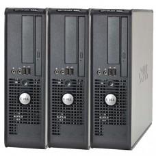 Pachet 3x Calculator Dell Optiplex 380 SFF, Intel Celeron E3300 2.5GHz, 4GB DDR3, 160GB HDD
