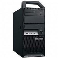 Workstation Lenovo ThinkStation E30 Tower, Intel Xeon Quad Core E3-1220 3.10GHz-3.40GHz, 8GB DDR3, 1TB SATA, Placa video Gaming AMD Radeon R7 350 4GB GDDR5 128-Bit, DVD-ROM