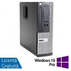 Calculator Dell OptiPlex 390 SFF, Intel Core i5-2400 3.10GHz, 4GB DDR3, 500GB SATA, DVD-RW + Windows 10 Pro