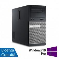 Calculator Dell 9010 MT, Intel Core i5-3470 3.20GHz, 8GB DDR3, 500GB SATA + Windows 10 Pro