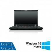 Laptop LENOVO ThinkPad T530, Intel Core i5-3320M 2.60 GHz, 8GB DDR3, 120GB SSD, DVD-RW, 15.6 Inch, Webcam + Windows 10 Home