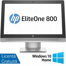 All In One HP EliteOne 800 G2, 23 Inch Full HD, Intel Core i5-6500 3.20GHz, 16GB DDR4, 240GB SSD, DVD-RW, Webcam + Windows 10 Home