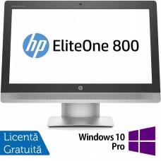 All In One HP EliteOne 800 G2, 23 Inch Full HD, Intel Core i5-6500 3.20GHz, 16GB DDR4, 240GB SSD, DVD-RW, Webcam + Windows 10 Pro