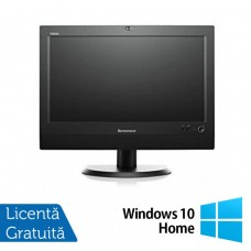 All In One LENOVO M93z 23 Inch Full HD IPS LED, Intel Core i5-4570T 2.90GHz, 8GB DDR3, 240GB SSD, DVD-RW + Windows 10 Home