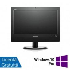 All In One LENOVO M93z 23 Inch Full HD IPS LED, Intel Core i5-4570T 2.90GHz, 4GB DDR3, 500GB SATA, DVD-RW + Windows 10 Pro