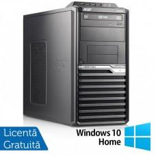 Calculator Acer Veriton M6610G Tower, Intel Core i5-2310 2.90GHz, 8GB DDR3, 120GB SSD + 500GB HDD, DVD-RW + Windows 10 Home