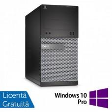 Calculator DELL Optiplex 3020 Tower, Intel Core i5-4570 3.20GHz, 4GB DDR3, 500GB SATA, DVD-ROM + Windows 10 Pro