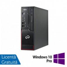 Calculator Fujitsu C700, Intel Pentium G620 2.60GHz, 4GB DDR3, 250GB SATA, Radeon R5 240 1GB DDR3, DVD-ROM + Windows 10 Pro