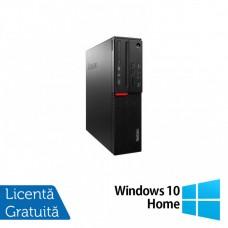 Calculator LENOVO M700 SFF, Intel Core i3-6100 3.70GHz, 8GB DDR4, 240GB SSD + Windows 10 Home