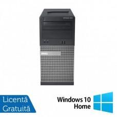 Calculator Dell OptiPlex 3010 Tower, Intel Core i3-3240 3.40GHz, 4GB DDR3, 500GB SATA, DVD-RW + Windows 10 Home