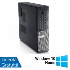 Calculator DELL 790 Desktop, Intel Core i3-2100 3.10 GHz, 4GB DDR3, 250GB SATA, DVD-ROM + Windows 10 Home