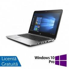 Laptop HP EliteBook 725 G3, AMD A8-8600B 1.60GHz, 8GB DDR3, 500GB SATA, Webcam, 12.5 Inch + Windows 10 Pro