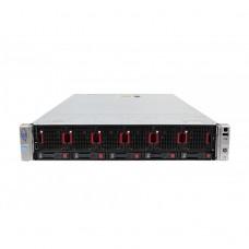 Server HP ProLiant DL560 G8 2U, 4 x CPU Intel Hexa Core Xeon E5-4610 2.40GHz - 2.90GHz, 128GB DDR3 ECC, 2 X SSD 240GB, Raid P420i/1GB, iLO4 Advanced, 4 Port xGigabit, 2x Surse Hot Swap