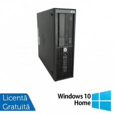 Workstation HP Z220 SFF, Intel Core i5-3470 3.20GHz - 3.60GHz, 32GB DDR3, 480GB SSD + 2TB HDD, Intel HD Graphics 2000, DVD-RW + Windows 10 Home