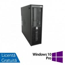 Workstation HP Z220 SFF, Intel Core i5-3470 3.20GHz - 3.60GHz, 32GB DDR3, 480GB SSD + 2TB HDD, Intel HD Graphics 2000, DVD-RW + Windows 10 Pro