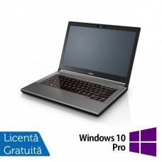 Laptop Fujitsu Lifebook E744, Intel Core i5-4200M 2.50GHz, 8GB DDR3, 120GB SSD, DVD-RW, 14 Inch + Windows 10 Pro