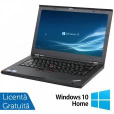 Laptop LENOVO ThinkPad T430, Intel Core i5-3210M 2.50GHz, 4GB DDR3, 120GB SSD, DVD-RW, 14 Inch, Webcam + Windows 10 Home