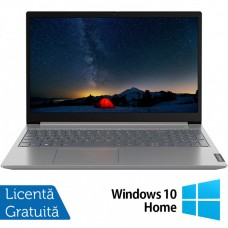 Laptop Nou Lenovo IdeaPad 3 15IIL05, Intel Core Gen 10 i3-1005G1 1.20-3.40GHz, 8GB DDR4, 256GB SSD, 15.6 Inch Full HD, Bluetooth, Webcam, Platinum Gray + Windows 10 Home