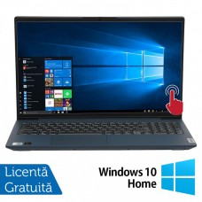 Laptop Nou Lenovo IdeaPad 5 15IIL05, Intel Core Gen 10 i7-1065G7 1.30-3.90GHz, 12GB DDR4, 512GB SSD, 15.6 Inch Full HD IPS LED TouchScreen, Bluetooth, Webcam + Windows 10 Home