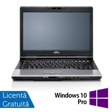 Laptop FUJITSU SIEMENS S752, Intel Core i5-3210M 2.50GHz, 4GB DDR3, 120GB SSD, DVD-RW, 14 Inch + Windows 10 Pro