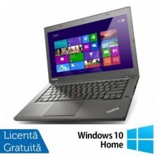 Laptop LENOVO ThinkPad T440P, Intel Core i5-4300M 2.60GHz, 8GB DDR3, 120GB SSD, DVD-RW, 14 Inch + Windows 10 Home
