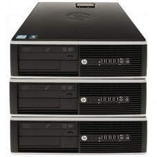Pachet 3x Calculator HP 6005 SFF, AMD Athlon II x2 215 2.70GHz, 4GB DDR3, 250GB SATA, DVD-RW