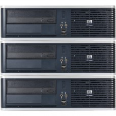 Pachet 3x Calculator HP DC5850, AMD Athlon 64 X2 5200B 2.70GHz, 4GB DDR2, 160GB SATA, DVD-RW