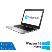 Laptop HP ProBook 430 G4, Intel Core i5-7200U 2.50GHz, 4GB DDR4, 120GB SSD M.2, 13.3 Inch, Webcam + Windows 10 Home