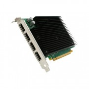 Placa video Nvidia Quadro NVS 450, 512MB DDR3, 4x Display Port, 64 Bit, Silent Cooling