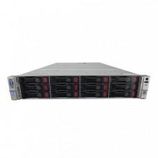 Server HP ProLiant DL380p G8 2U, 2x CPU Intel Hexa Core Xeon E5-2620 v2 2.10GHz - 2.60GHz, 128GB DDR3 ECC, 2X SSD 240GB + 4x 2TB SAS/7.2K, Raid P420/1GB, iLO4 Advanced, 2 Port x10 Gigabit SFP, 2xSurse Hot Swap