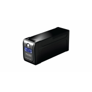 UPS TED Electric 700VA/400W, Cu stabilizator, Display LCD, 2 x Schuko