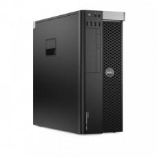 Workstation Dell Precision T5600, Intel Xeon Hexa Core E5-2620 2.0GHz-2.5GHz, 16GB DDR3 ECC, SSD 240GB + 2TB HDD SATA, DVD-RW, nVidia Quadro K4000 3GB