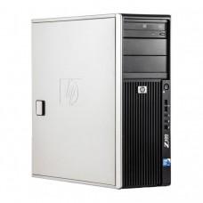 WorkStation HP Z400, Intel Xeon Quad Core W3520 2.66GHz-2.93GHz, 8GB DDR3, 500GB SATA, Placa video Gaming AMD Radeon R7 350 4GB GDDR5 128-Bit, DVD-RW