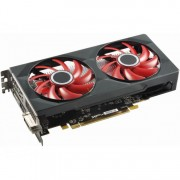 Placa Video XFX Radeon RX 560 Double Dissipation, 4GB GDDR5, HDMI, DVI-D, Display Port, 128bit